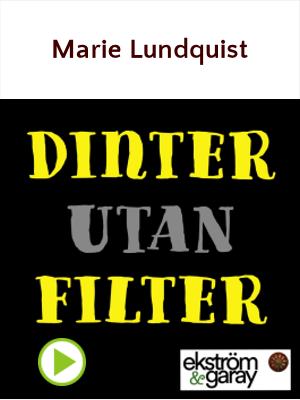 Dinter utan filter - Marie Lundquist