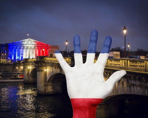 Frankrike-Paris-yttrandefrihet