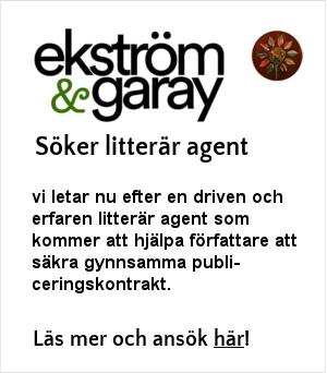Ekström & Garay söker litterär agent